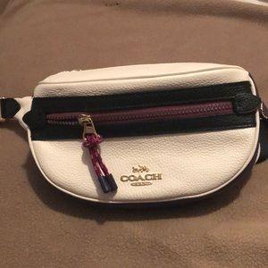 Unique Coach leather belt bag